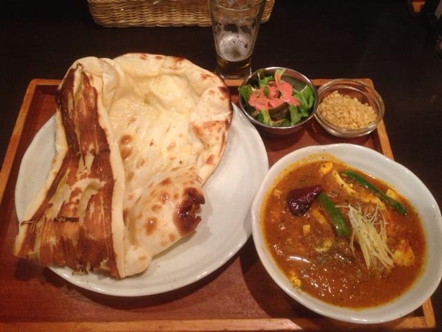 野菜と玉子の印度カレー