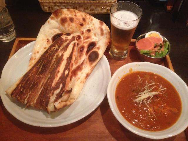 蓮根と鶏の印度カレー