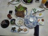 飛魚の干物や亀の手等の島の特産物