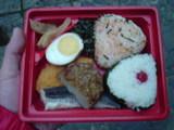 朝食のお弁当
