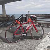 昼飯後は漁港を眺めながら休憩