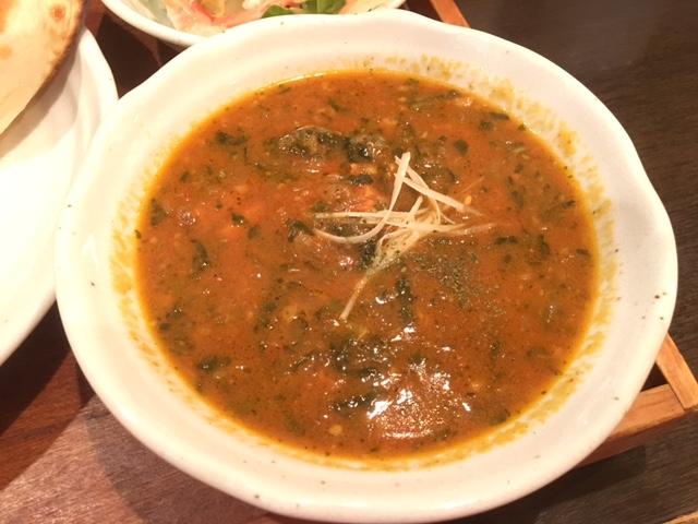 法蓮草と鶏胸肉